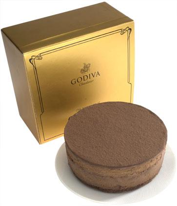 Godiva cheesecake